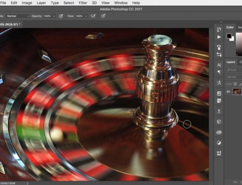 How to use the Spin Blur filter