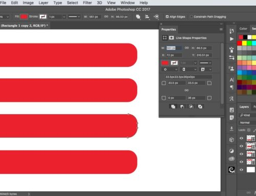 How to use Live Shapes in Photoshop