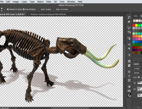 How to make portable shadows in Photoshop