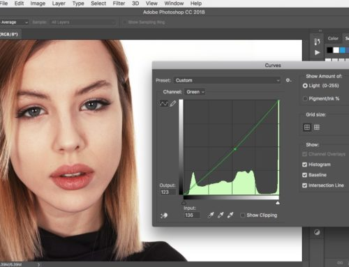How to use the Curves adjustment