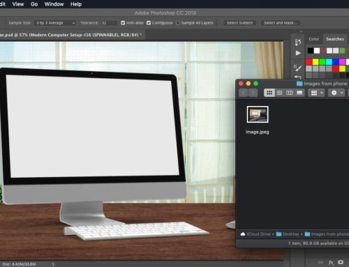 How to get images into Photoshop with Mojave and iOS12